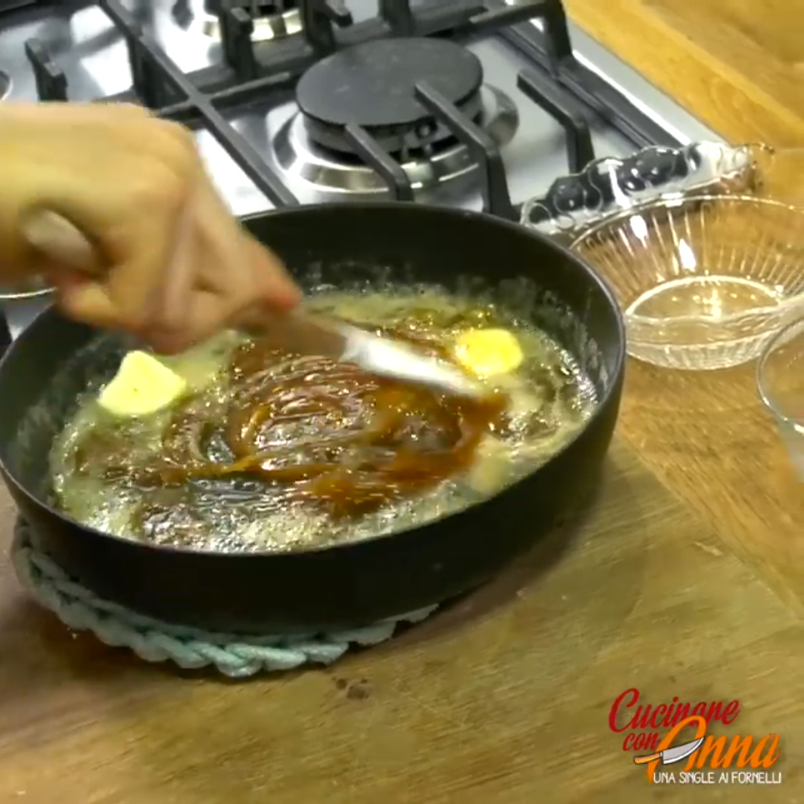 Salsa caramello al burro salato
